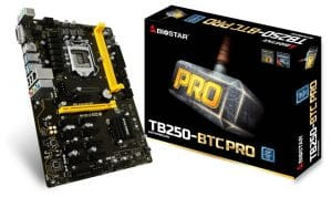 Biostar Motherboard TB250-BTC review